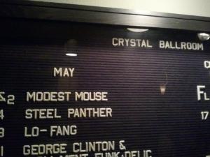 A handy concert calendar