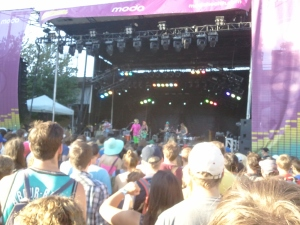 A glimpse of the color of tUnE-yArDs